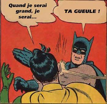 batman gifle